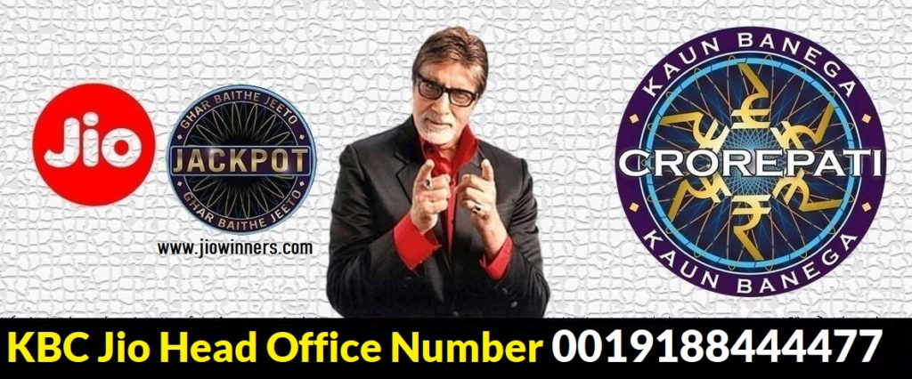 jio kbc head office number